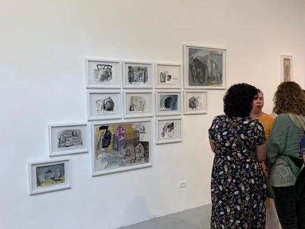 Opening of 9X Artist Walls