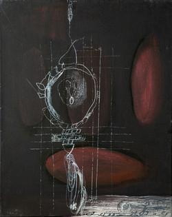 Ora Brill, Works on Canvas, 2018-2019, 5