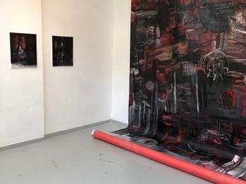 New Artist Wall at Artspace Tel Aviv