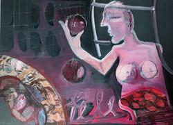 Ora Brill, Works on Canvas, 2018-2019, 1