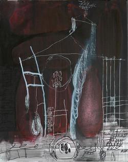 Ora Brill, Works on Canvas, 2018-2019, 7