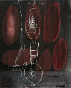 Ora Brill, Works on Canvas, 2018-2019, 6