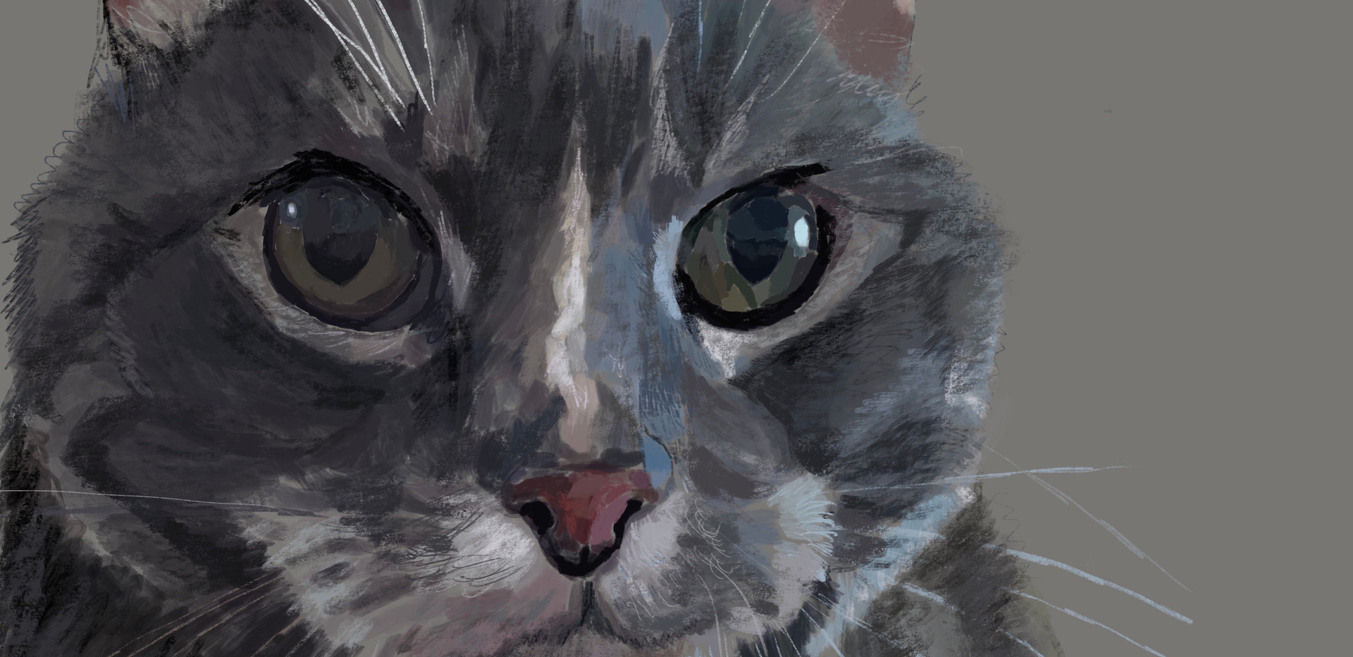 Cat-Smokey (SOLD)