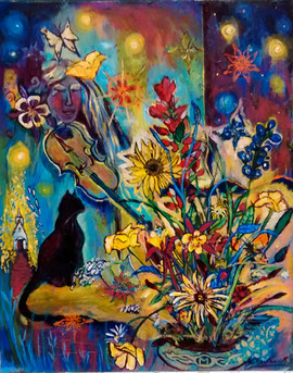 SOLD Fall Flowers $500