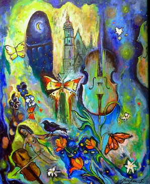 SOLD Colors of Music $650