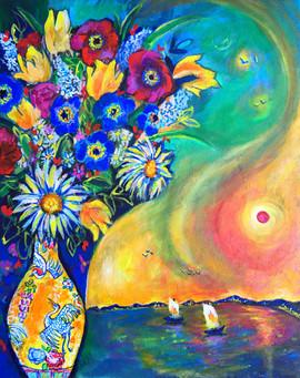 Summer Flowers $650