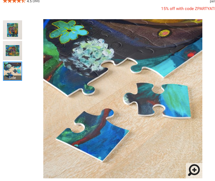 Jigsaw Puzzle- Detail