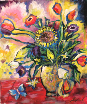 SOLD Summer Flowers $500