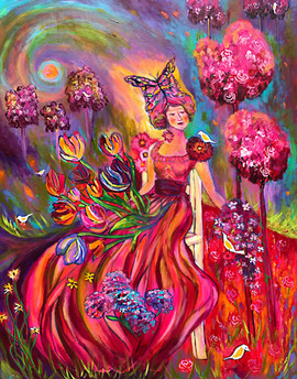 Pink Enchanted Garden $800