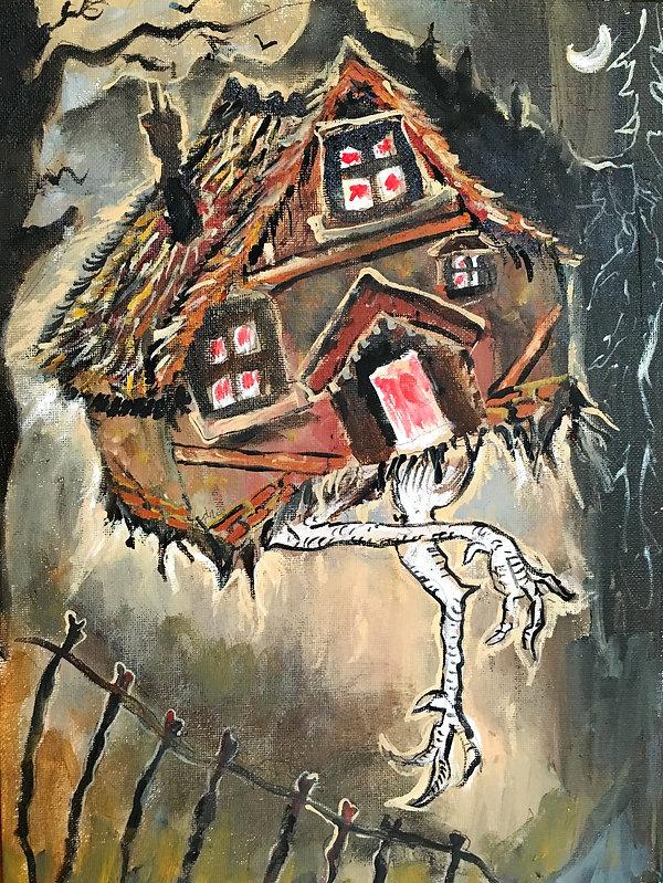 In Baba Yaga's Hut on Fowl's Legs, the w