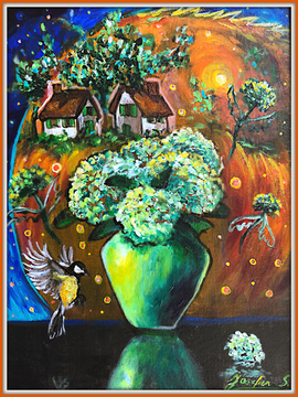 Flying Flowers No.1 $500