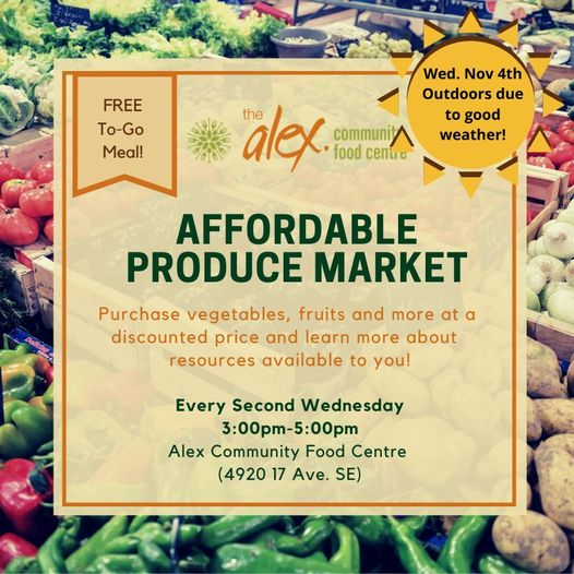 Affordable food market
