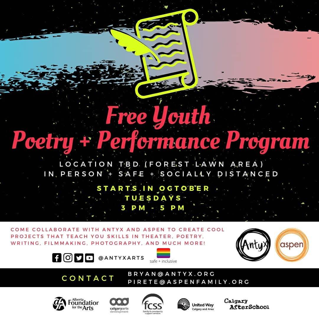 Antxy-performance poetry