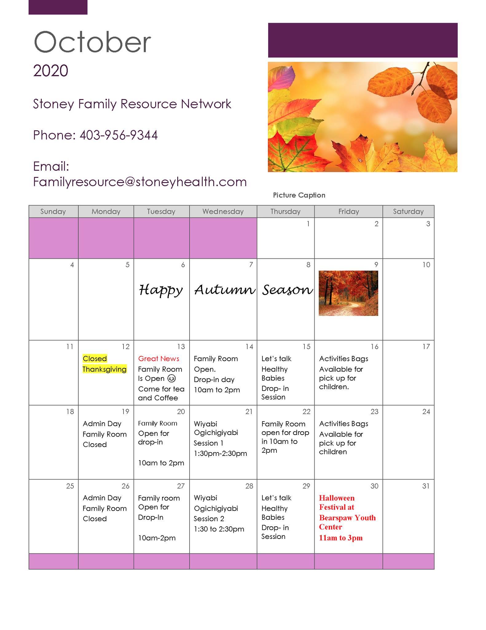 Stony Family resource center