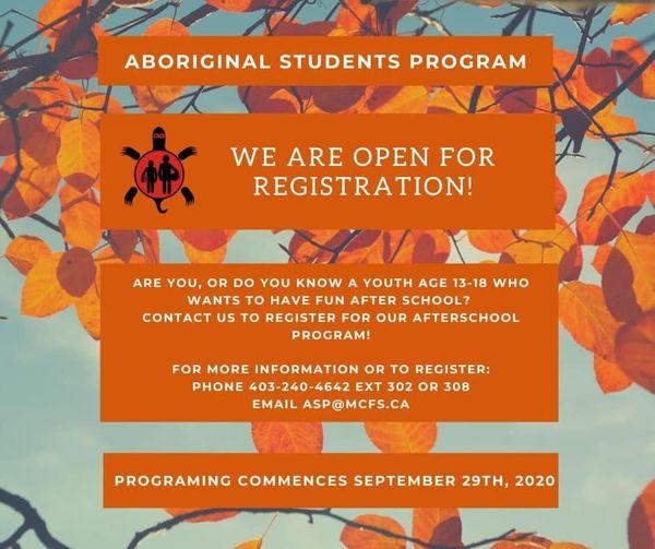 Aboriginal student program