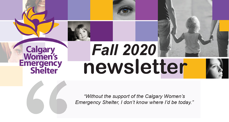 women shelter news letter