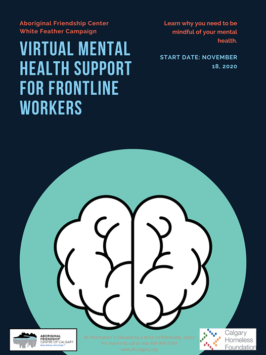 Mental health support for front line wor