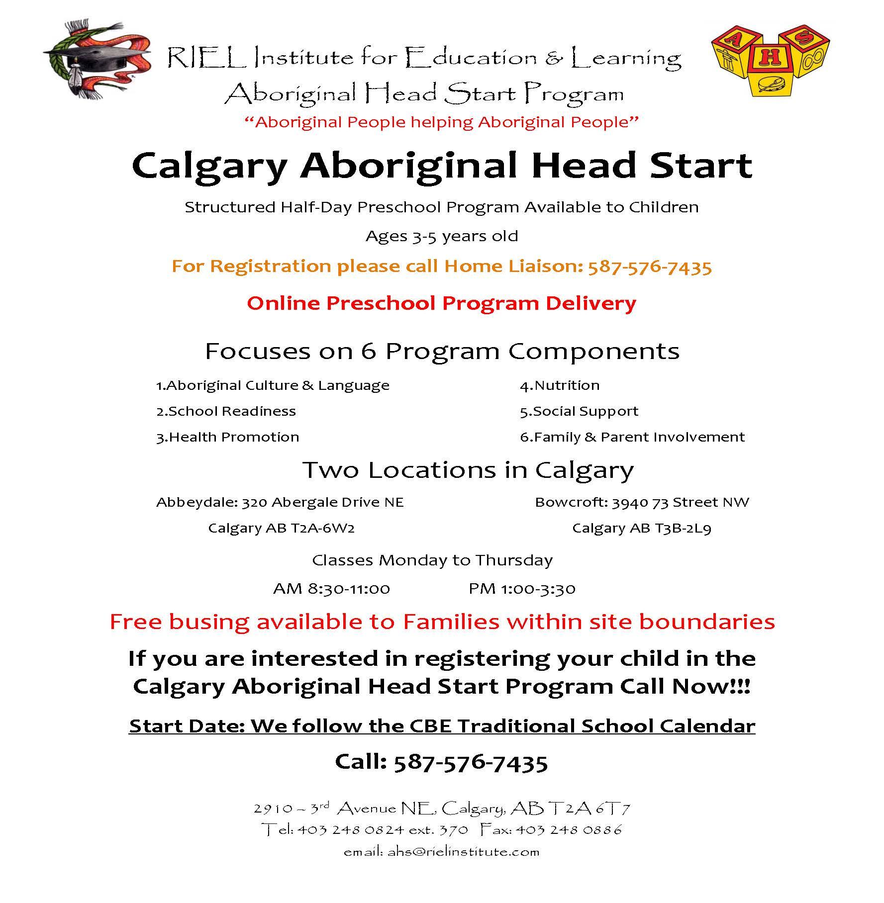 Aboriginal Head Start program