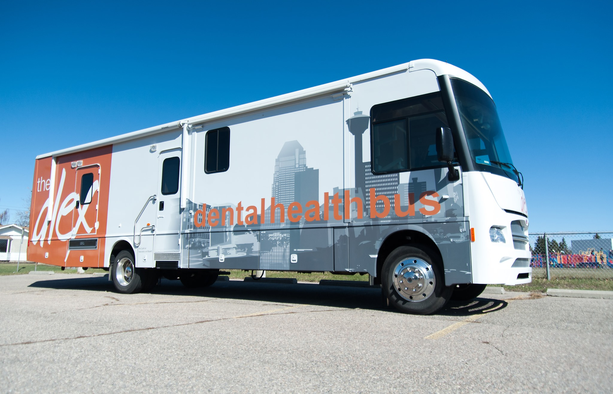 The Alex- Dental health bus