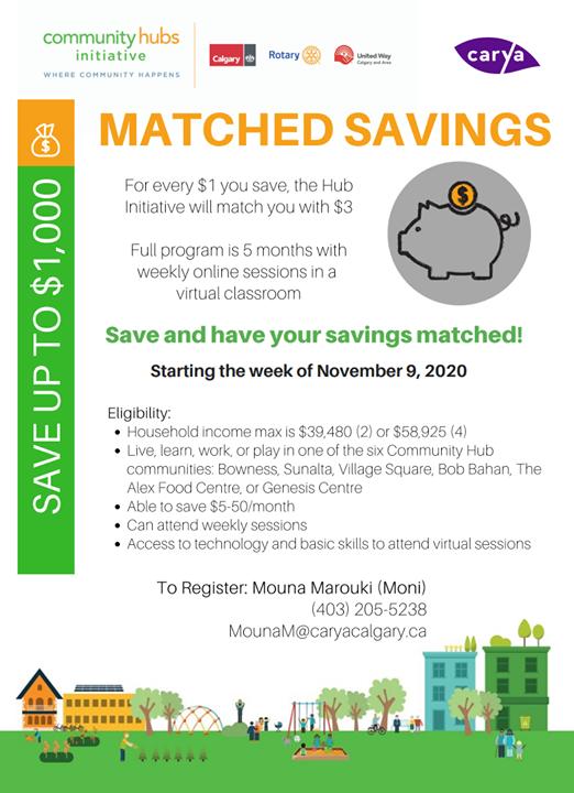 Matched savings