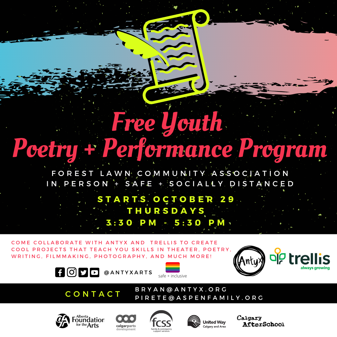 Poetry and performance program