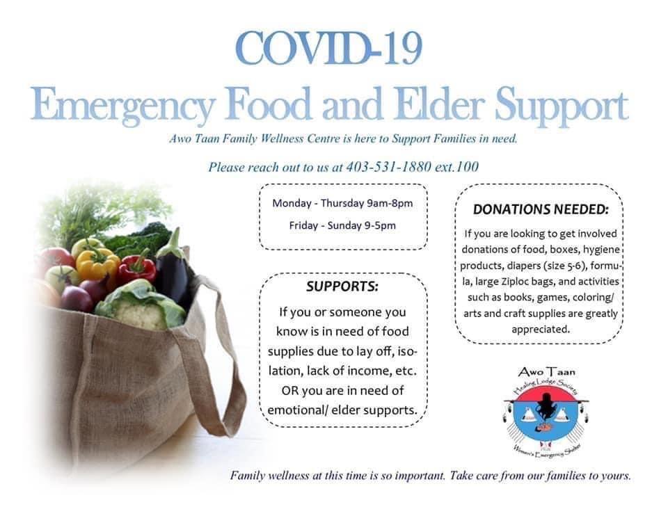 Emergency Food and Elder Support