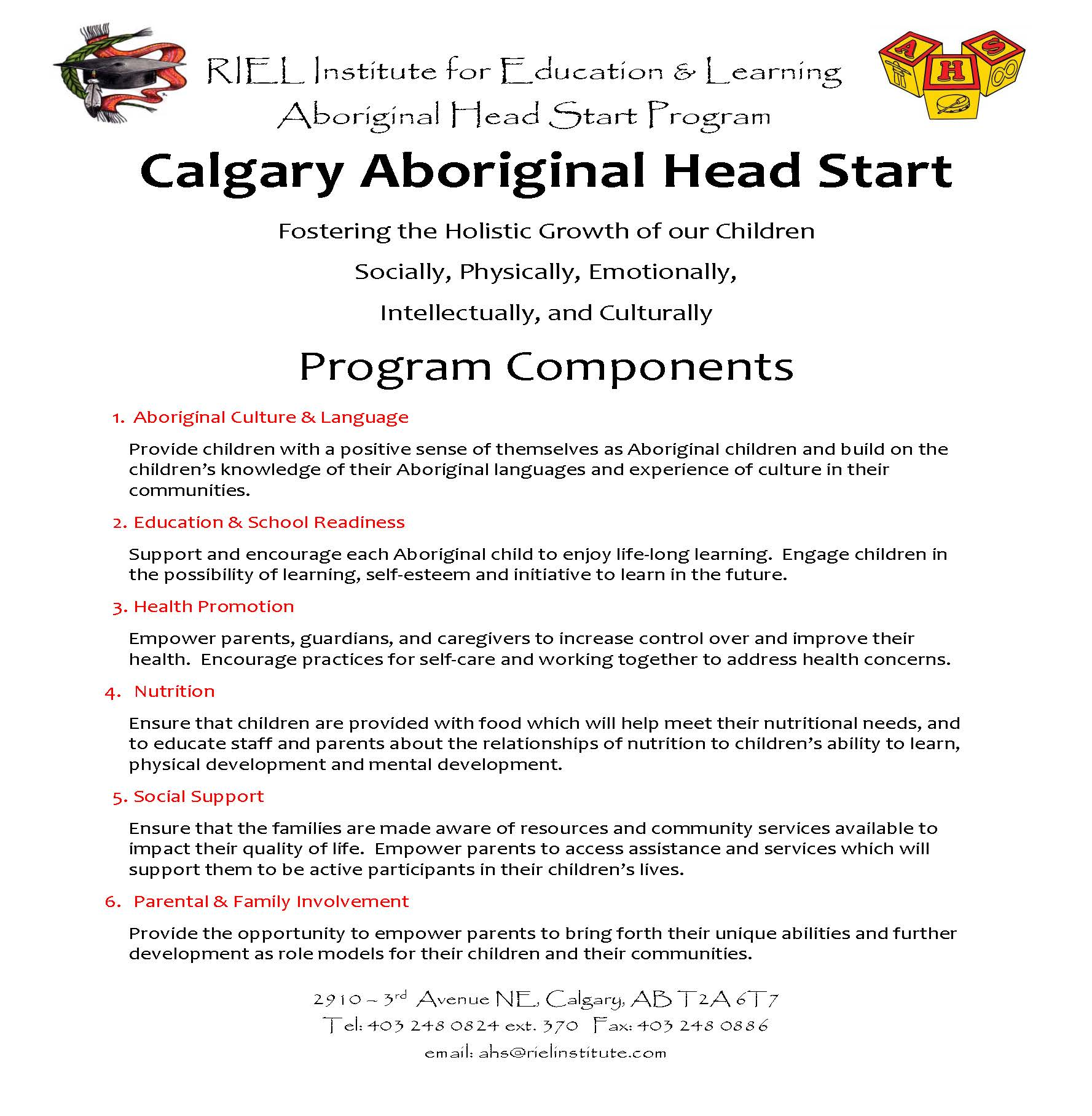 Aboriginal Head Start program