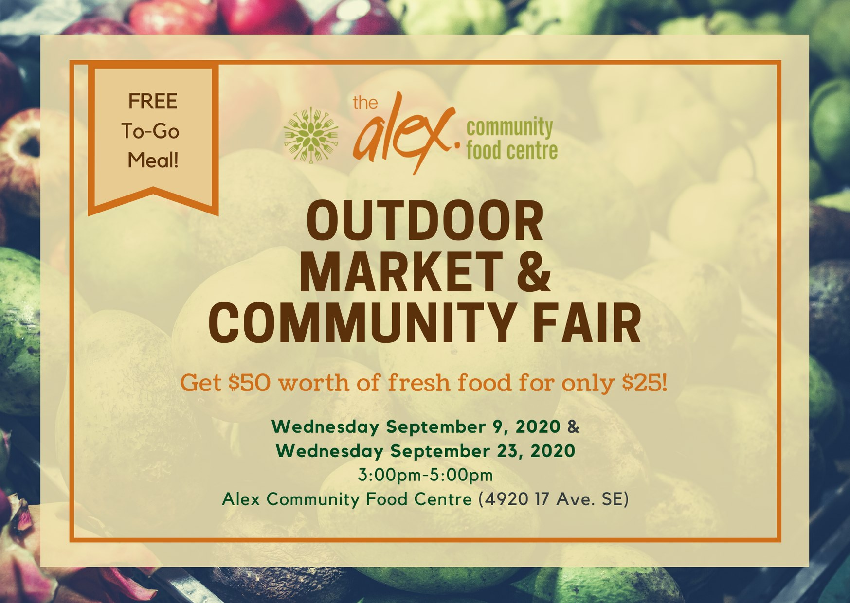 Outdoor Market and Community fair