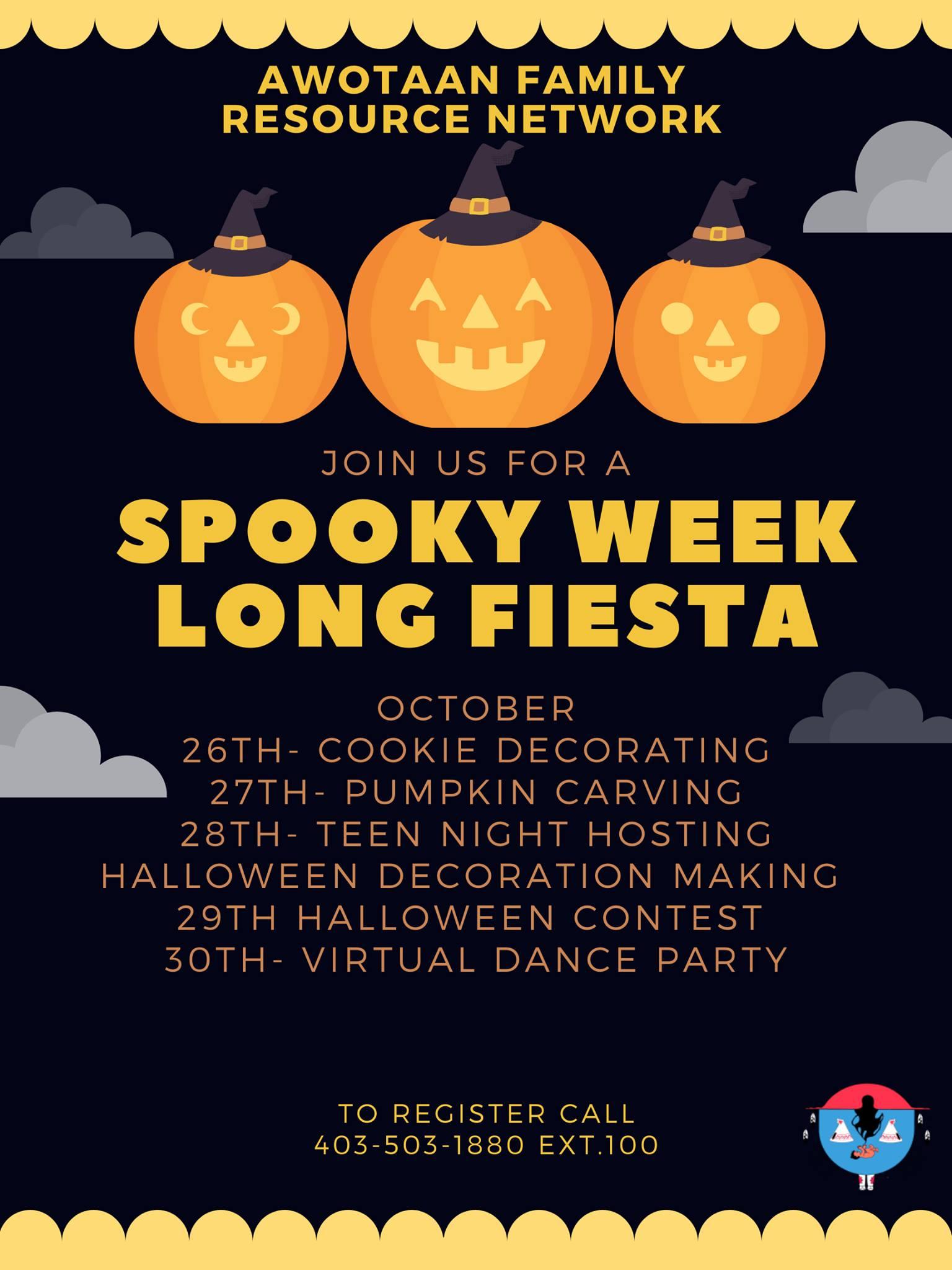 Spooky week