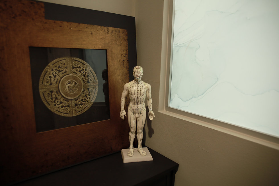 Oriental Frame and human body model
