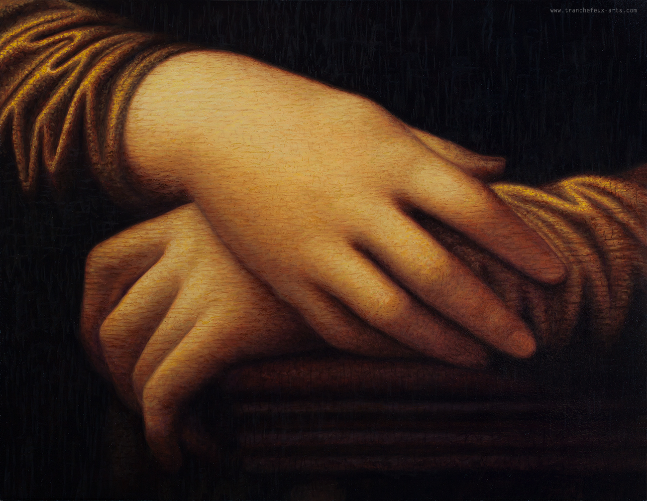 HAND OF MONA LISA