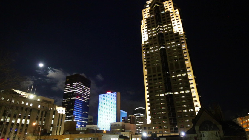 Downtown Marriott Lighting Timelapse.mov