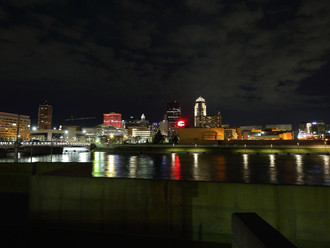 KCL Lighting Projects Shine Orange for Easterseals 100th