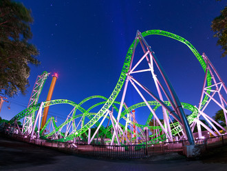 KCL Engineering Receives Illuminating Engineering Society Awards for The Monster Roller Coaster Ligh