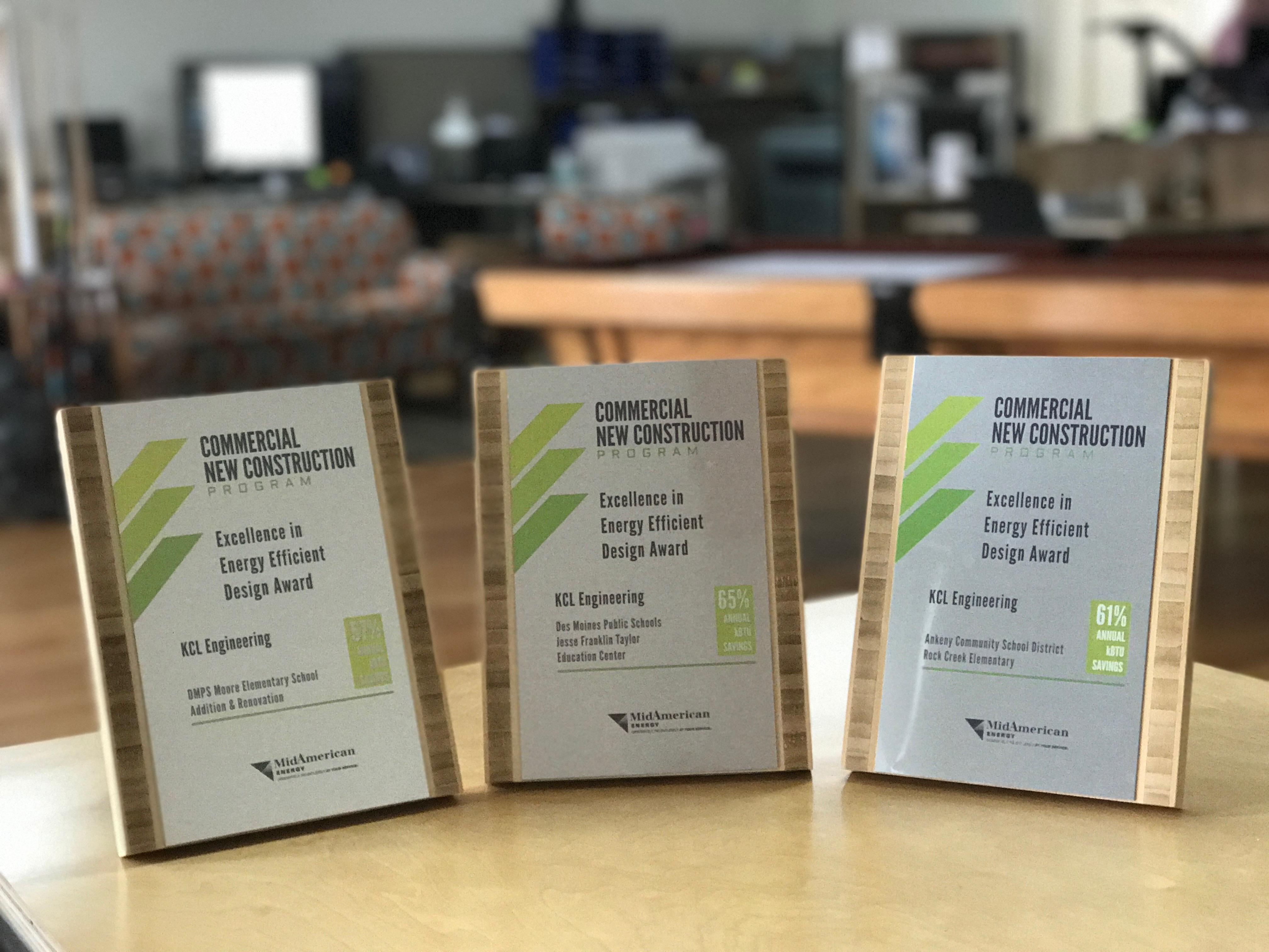 DMPS MidAmerican Energy Awards