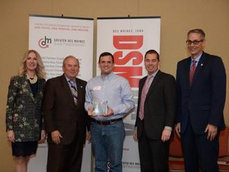 KCL Accepts Innovation Award