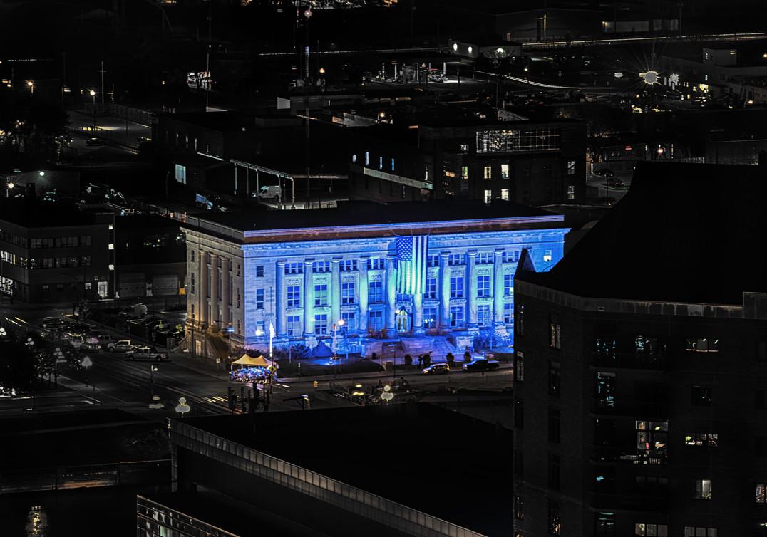 Des Moines Police_Blue Lighting_Mirza Ku