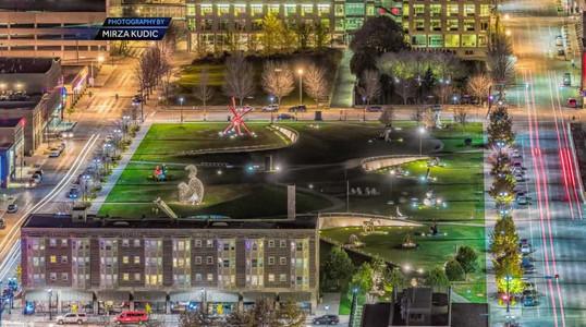Pappajohn Sculpture Park Night.jpg