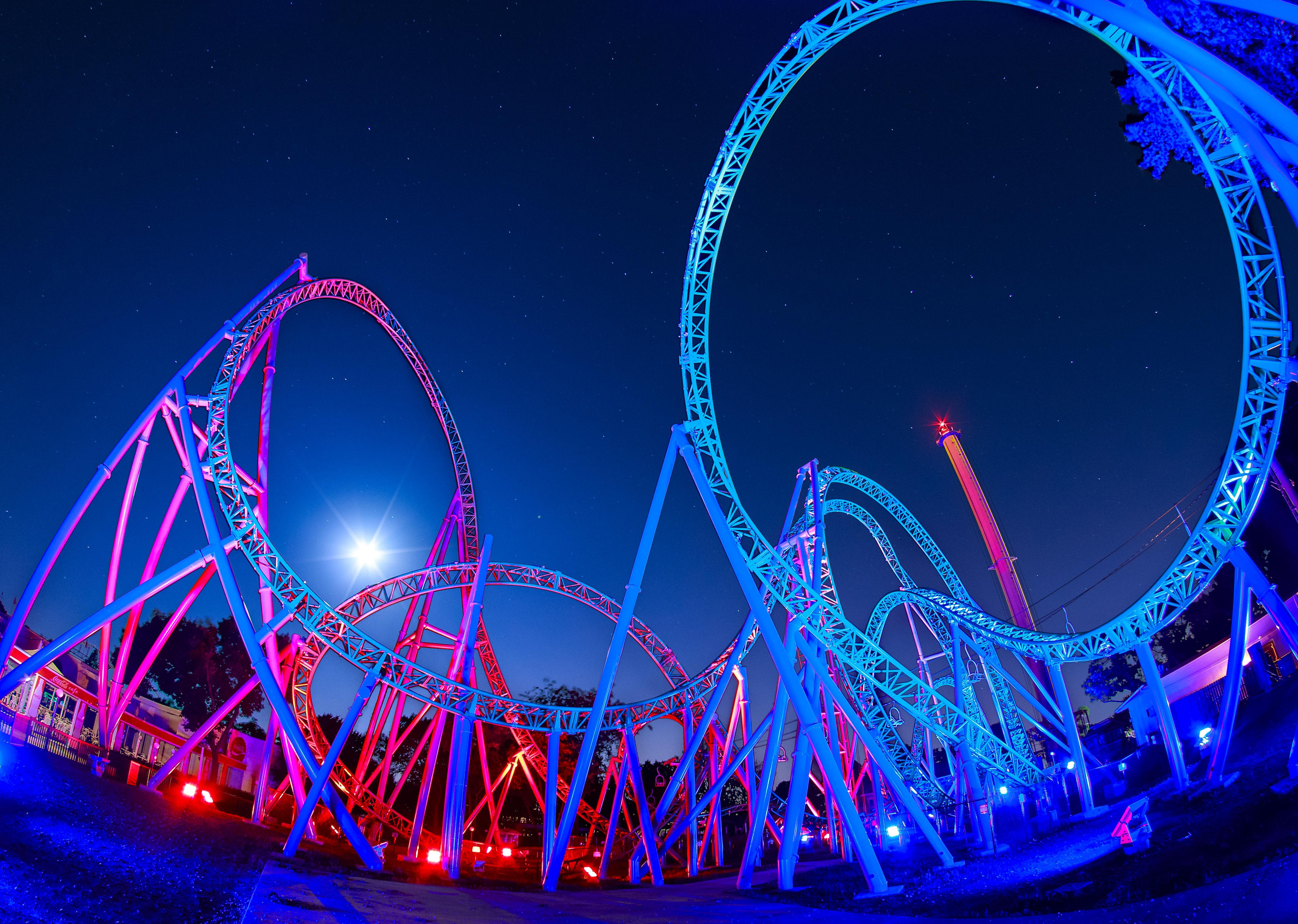 East Corner_0001_Blue and Purple Coaster