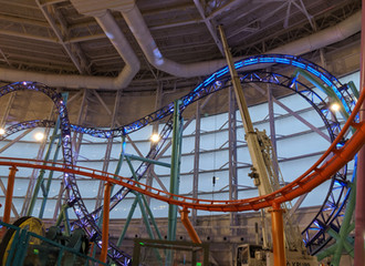 KCL Roller Coaster Lighting System Debuts at American Dream's Nickelodeon Universe