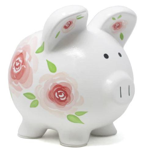 Rose piggy bank