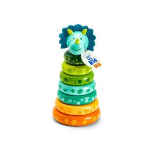 Dinosaur ring stack