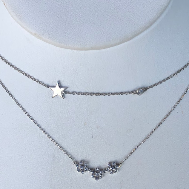 Sterling Silver adjustable necklaces