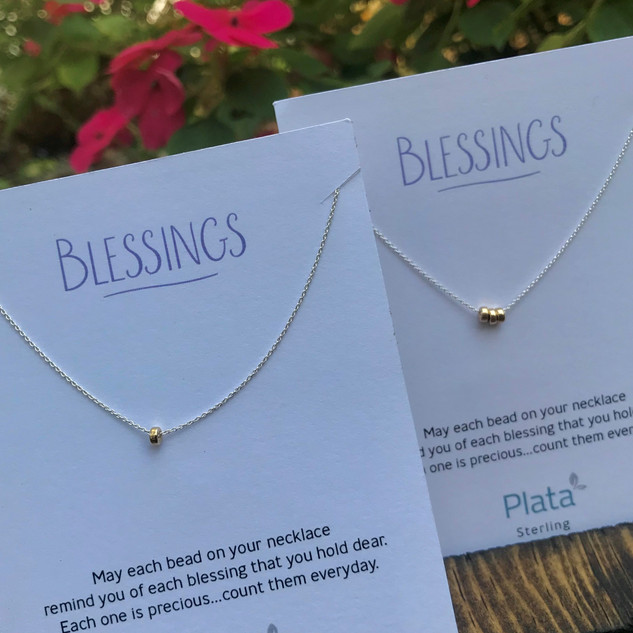Blessings necklaces