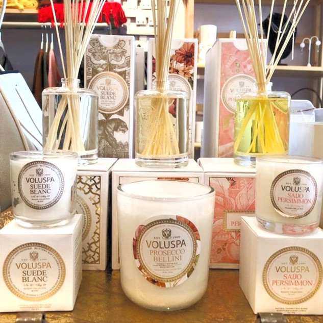 Fragrant candles & diffusers