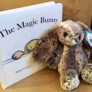 Jellycat book and small Woodland Bunny (items sold separately)
