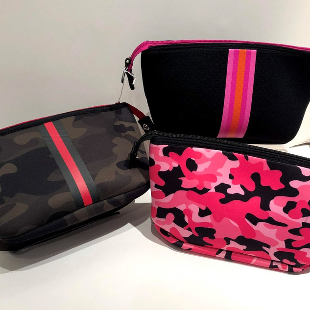Neoprene cosmetic cases