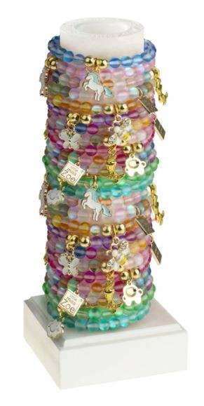 Stretchy charm bracelets - perfect for little girls!