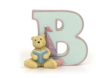 Alphabet letters for children's rooms