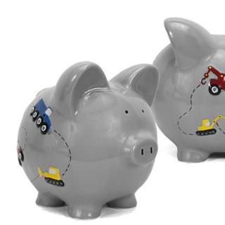Construction piggy bank